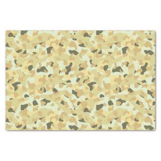 Desert disruptive camouflage tissue paper