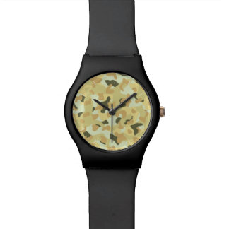 Desert disruptive camouflage watch