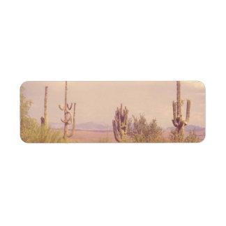 Desert Dream return address labels