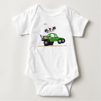 Desert Dune Buggy for Baby Baby Bodysuit