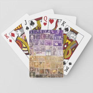 Desert Dusk Playing Cards, Hippie Boho Travel Art Playing Cards