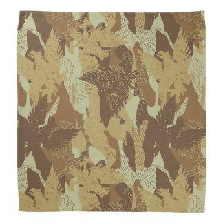Desert eagle camouflage bandana