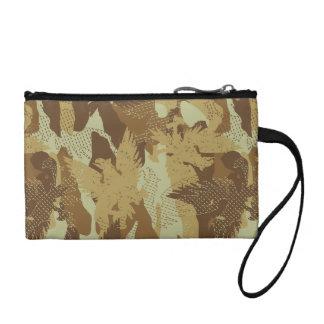 Desert eagle camouflage coin purse