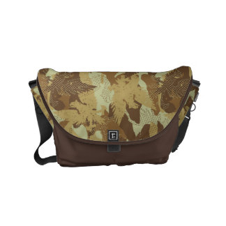 Desert eagle camouflage commuter bags