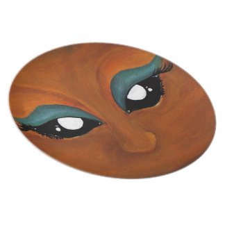 Desert Eyes Plate