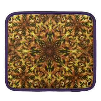 Desert Flower Mandala iPad Sleeve