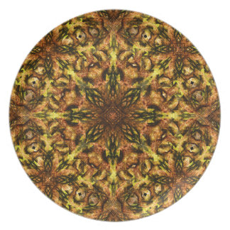 Desert Flower Mandala Party Plates