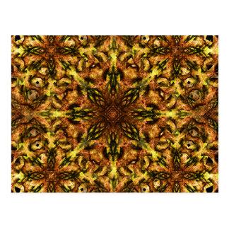Desert Flower Mandala Postcard
