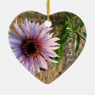 Desert Flower; Sweet Nothings Ceramic Ornament