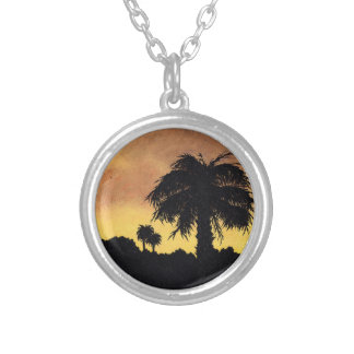 """Desert Gold Sunset"" Necklace by All Joy Art"