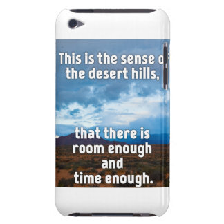 Desert Hills Barely There iPod Covers