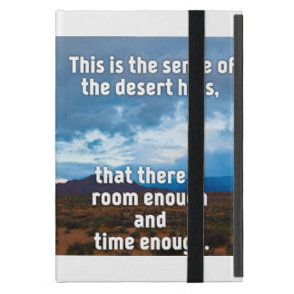 Desert Hills Cover For iPad Mini