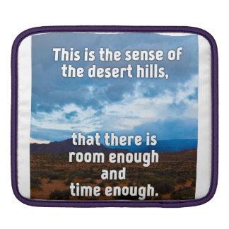 Desert Hills iPad Sleeve