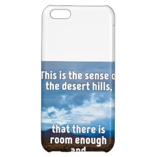 Desert Hills iPhone 5C Case