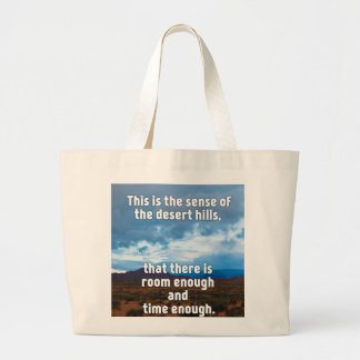 Desert Hills Large Tote Bag