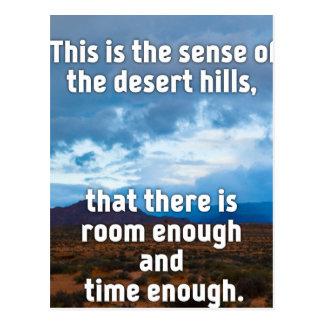 Desert Hills Postcard