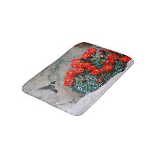 Desert Hummingbird Bathroom Mat