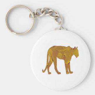 Desert Hunt Basic Round Button Keychain