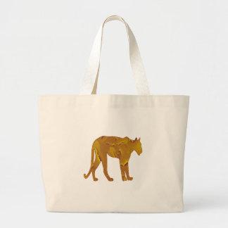 Desert Hunt Large Tote Bag