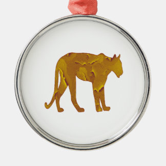 Desert Hunt Metal Ornament