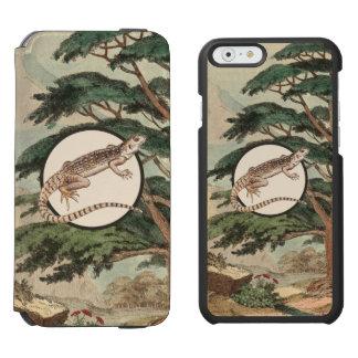 Desert Iguana In Natural Habitat Illustration Incipio Watson™ iPhone 6 Wallet Case