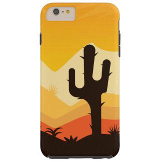 Desert Illustration Tough iPhone 6 Plus Case