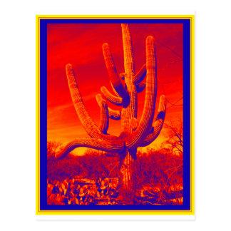 Desert Infrared Postcard