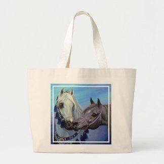 Desert Jewels Arabian horses tote bag