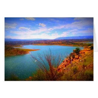 Desert Lake Card
