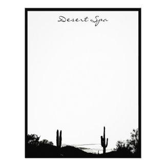 Desert Landscape Letterhead Template