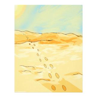 Desert Letterhead Template