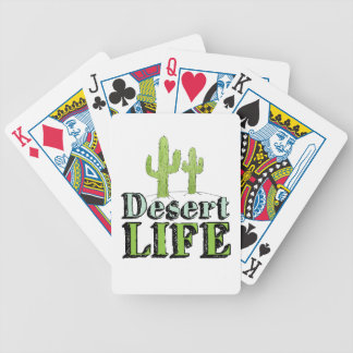 Desert Life Bicycle Playing Cards