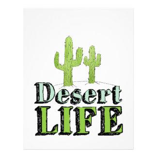 Desert Life Letterhead Design