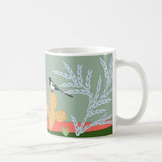 Desert Life: magpies mug art
