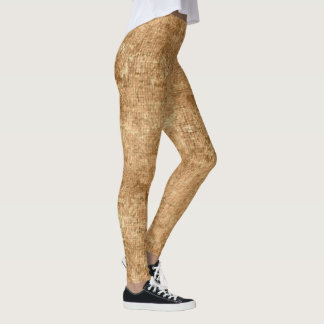 Desert Mist Oil Painting Leggings