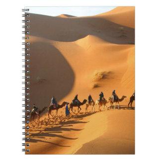 desert-morocco-sahara spiral note book