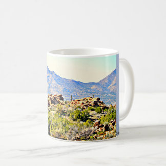 Desert Mountains of Arizona/Nevada Coffee Cup/Mug Coffee Mug