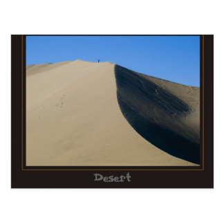 desert of Ica, Peru Postcard