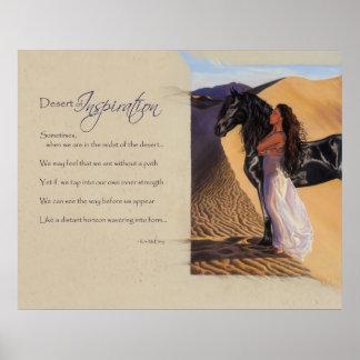 Desert of Inspiration Poster