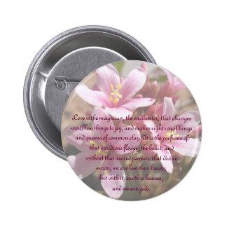 Desert Pink Love is - Button 2