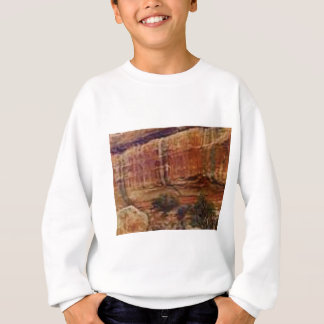 desert rock stripes sweatshirt