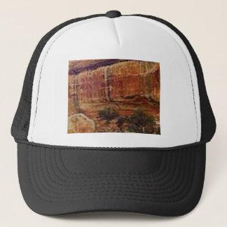 desert rock stripes trucker hat