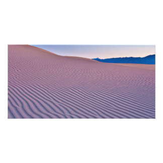 Desert Sands at Sunrise Custom Photo Card
