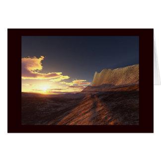 desert sands card