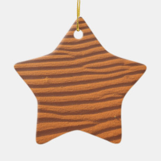 Desert Sands Ceramic Star Ornament