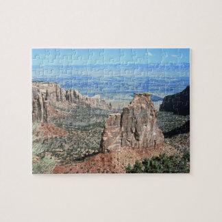 Desert Scene Jigsaw Puzzle
