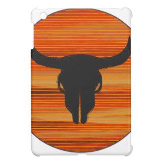 Desert Skull Sunset iPad Mini Cover