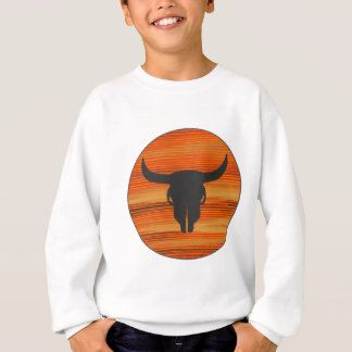 Desert Skull Sunset Sweatshirt