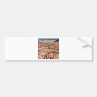 Desert Spikes Scene Bumper Sticker