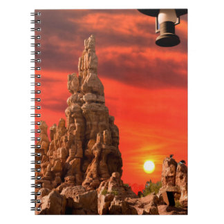 Desert Spiral Notebook
